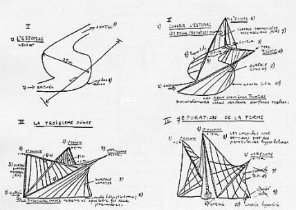 Fig 3 - Corbusier sketch.