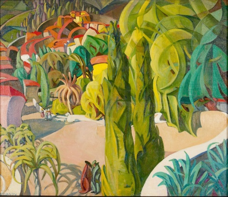 Mary Swanzy 'Le Village'