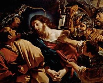 Guercino Betrayal of Christ