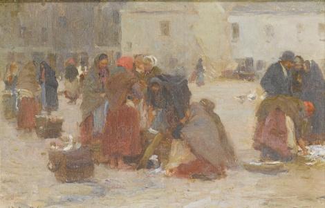 'Fish_Market,_Galway'_by_Walter_Frederick_Osborne